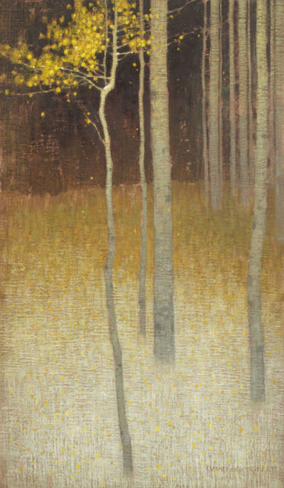 David Grossmann, 'Last Leaves and First Snow', 2010-2015