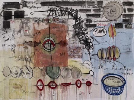 Fabrice Hyber, 'Miam', 2014