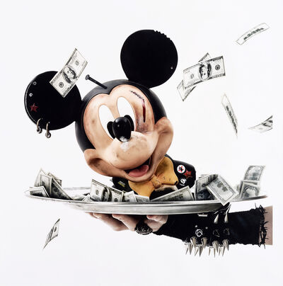 Gérard Rancinan, 'Head Of Mickey', 2012