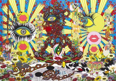 Keiichi Tanaami, 'Eye Ball Great Adventure', 2014