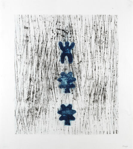 Prunella Clough, 'One and Two Leaves', 1992