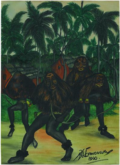 Ben Enwonwu MBE, 'Ugala Masquerade', 1940