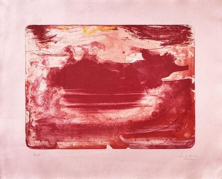 Helen Frankenthaler, 'Red Sea', 1978-1982