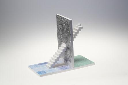 Tatsuo Kawaguchi, 'Relation - Optic Stairway Time, Wall of Penetrating Time', 2014