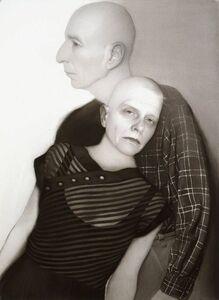 Susan Hauptman, 'Self-Portrait (with Leonard)', 2006