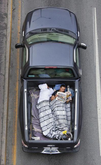 Alejandro Cartagena, 'Carpoolers #38', 2011