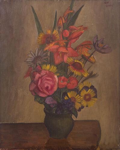 Mark Gertler, 'Still Life, Vase with Flowers', 1925