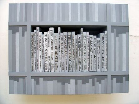 Tom Phillips, 'The Library at Elsinore (Fragment)', 2006