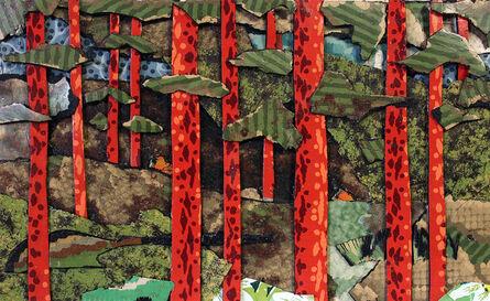 Bill Miller, 'Red Wood Study', 2016
