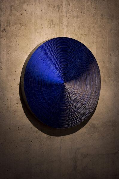 Marcos Coelho Benjamim, 'Roda azul', 2008