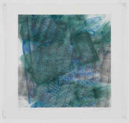 Ingrid Calame, '#1018 Drawing  (Stiftung Zollverein, Essen, Germany)', 2015