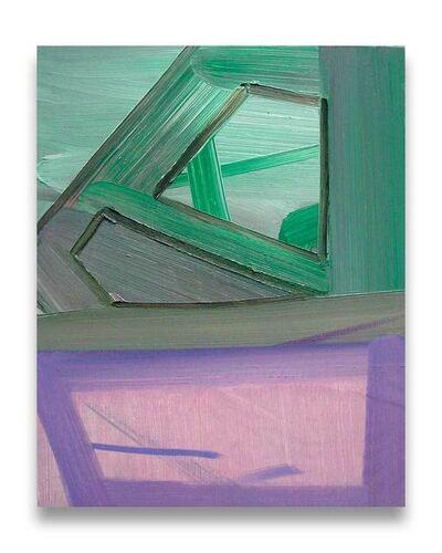 Ashlynn Browning, 'Purple Lush (Abstract painting)', 2010