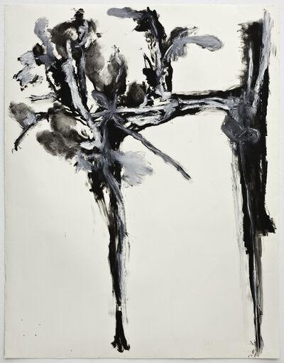 Cabrita, 'Large black and white flower #1', 2011