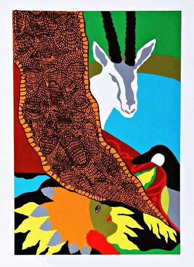 Hunt Slonem, 'Anaconda II', 1980