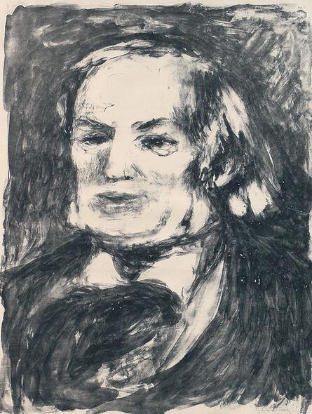 Pierre-Auguste Renoir, 'Portrait of Richard Wagner', c. 1900