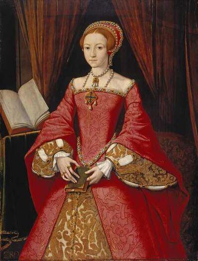 Guillaume Scrots, 'Elizabeth I when a Princess ', ca. 1546