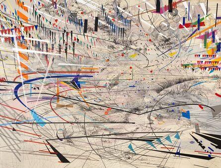 Julie Mehretu, 'Stadia I', 2004