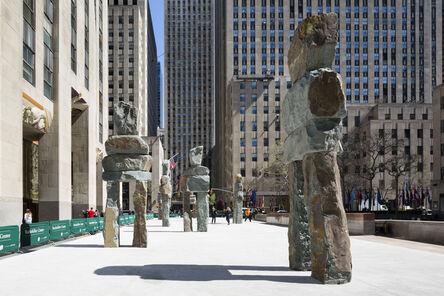 Ugo Rondinone, 'Ugo Rondinone: Human Nature', On view at Rockefeller Center, New York City, April 23 , June 7, 2013