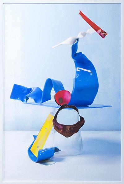 Lorenzo Vitturi, 'Untitled - Burned Debris & Blue #1', 2016