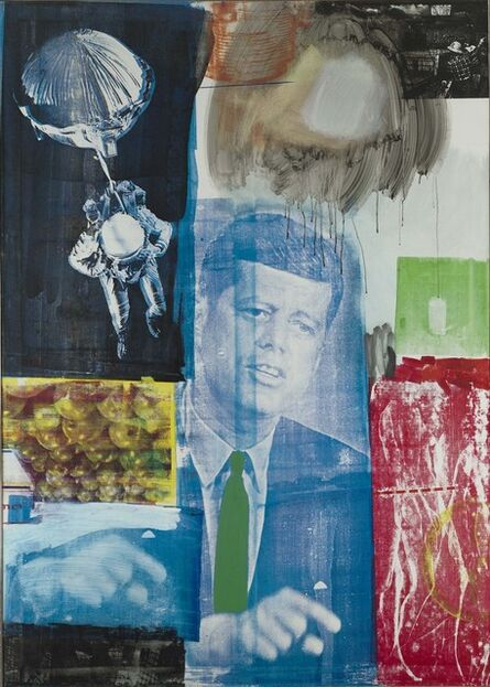 Robert Rauschenberg, 'Retroactive I', 1963