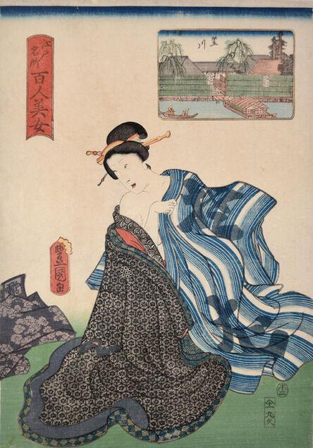 Utagawa Toyokuni III (Utagawa Kunisada), 'Tatekawa'