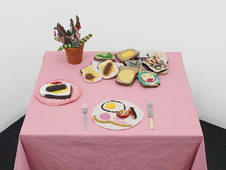Su Richardson, 'Burnt Breakfast and Packed Lunch', 1976