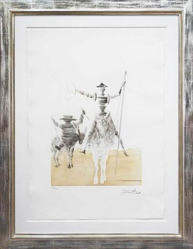 Salvador Dalí, 'Don Quijote und Sancho Panza', 1980