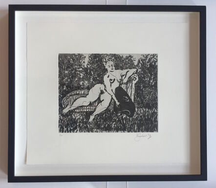 William Kentridge, 'Chaise Longue', 2010