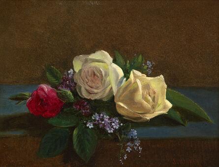 John O'Brien Inman, 'Still Life with Roses', 1866-1878