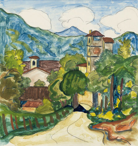 Hermann Hesse, 'Certenago', 1927