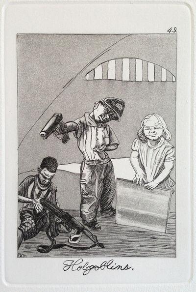 Emily Lombardo, 'Hobgoblins, from The Caprichos', 2013