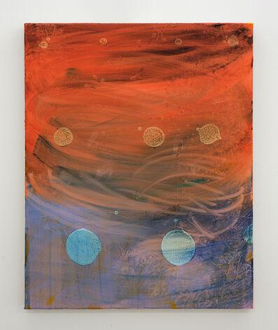 Emma McIntyre, 'Grid (white dot)', 2018