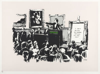 Banksy, 'Morons ', 2007