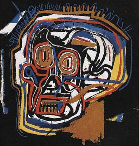Jean-Michel Basquiat, 'Untitled (Head, from Portfolio I)', 1983