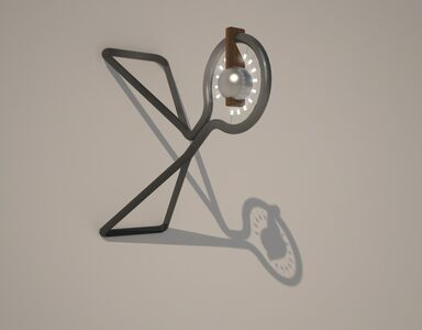 Marc Baroud & Marc Dibeh, 'Wall lamp', 2013