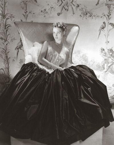 Horst P. Horst, 'Alix, Satin Dress', 1938