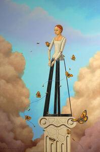 Linda Ridd Herzog, 'Butterflies and Bees', Contemporary