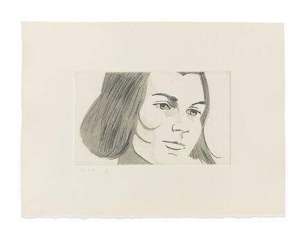 Alex Katz, 'June Ekman's Class: Thalia', 1972