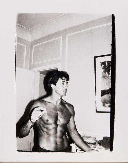 Andy Warhol, 'Andy Warhol, Polaroid Photograph of Sylvester Stallone, circa 1980', ca. 1980