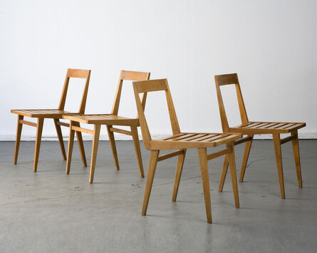 Joaquim Tenreiro, 'Set of four chairs', 1950s