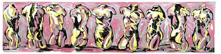 Luis Frangella, 'Pink Frieze (Friso Rosa)', 1985