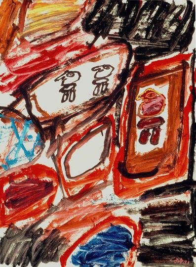 Jean Dubuffet, 'Site avec 3 personnages', 2