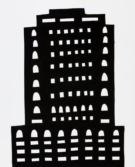 William Carroll, 'NIGHT BUILDING 14', 2018