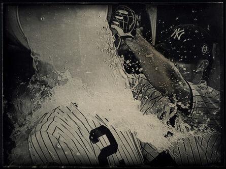Tabitha Soren, 'Derek Jeter, Last Home Run Ever in Yankee Stadium, Tintype 1582', 2014