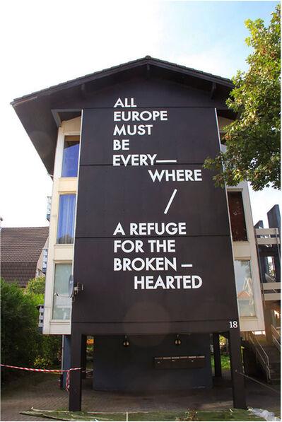 Robert Montgomery, 'All Europe must be Refuge'