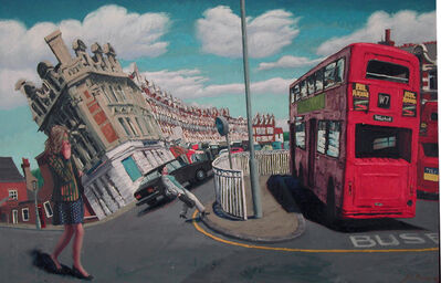 John Alexander Parks, 'Muswell Hill Again', 1985