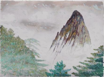 Victor Majzner, 'Yellow Mountain, China', 1990