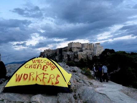 Thierry Geoffroy /COLONEL, 'WELCOME CHEAP WORKERS', 2017