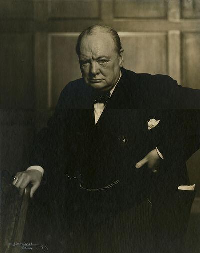Yousuf Karsh, 'Portrait of Winston Churchill', ca. 1941