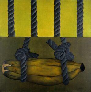 Antonio Henrique Amaral, 'Alone in Green', 1973